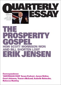 Cover Quarterly Essay 74 The Prosperity Gospel