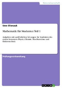 Cover Mathematik für Studenten Teil 1