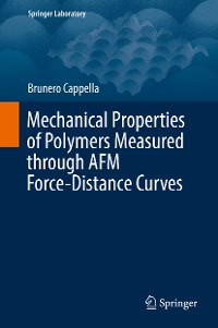 Cover Mechanical Properties of Polymers Measured through AFM Force-Distance Curves
