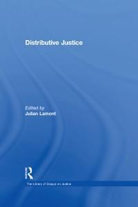 Cover Distributive Justice