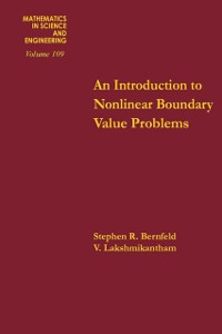 Cover Introduction to Nonlinear Boundary Value Problems