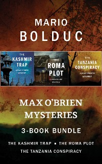Cover Max O'Brien Mysteries 3-Book Bundle