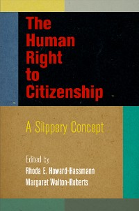 Cover The Human Right to Citizenship