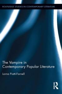 Cover Vampire in Contemporary Popular Literature