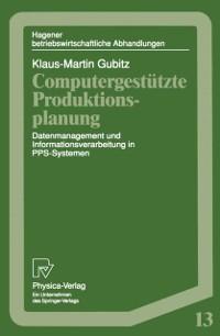 Cover Computergestutzte Produktionsplanung