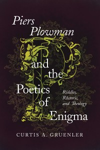 Cover Piers Plowman and the Poetics of Enigma