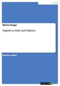 Cover English in India and Pakistan