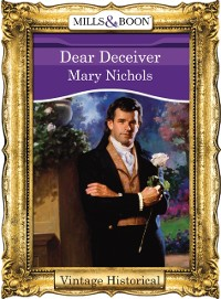 Cover Dear Deceiver (Mills & Boon Historical)