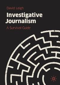 Cover Investigative Journalism