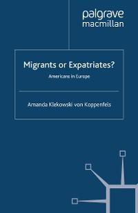 Cover Migrants or Expatriates?