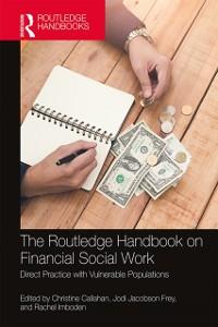 Cover Routledge Handbook on Financial Social Work