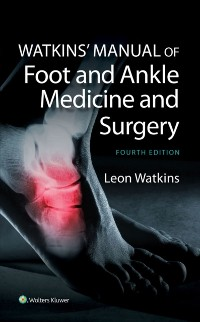 Cover Watkins' Manual of Foot and Ankle Medicine and Surgery