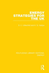 Cover Energy Strategies for the UK