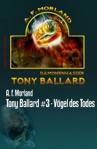 Cover Tony Ballard #3 - Vögel des Todes