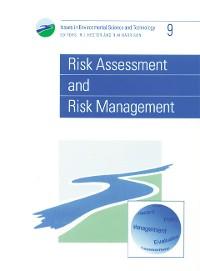 Cover Risk Assessment and Risk Management