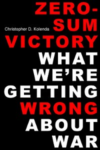 Cover Zero-Sum Victory