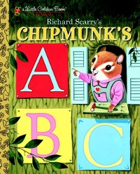 Cover Richard Scarry's Chipmunk's ABC