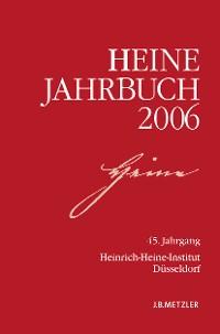Cover Heine-Jahrbuch 2006