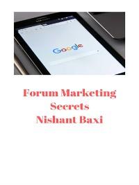 Cover Forum Marketing Secrets
