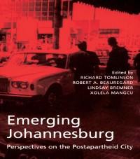 Cover Emerging Johannesburg