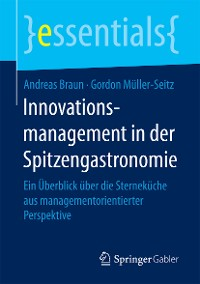 Cover Innovationsmanagement in der Spitzengastronomie