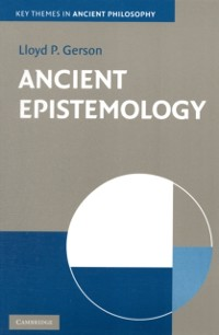 Cover Ancient Epistemology