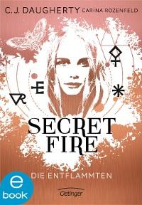 Cover Secret Fire. Die Entflammten