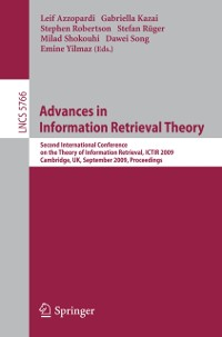 Cover Advances in Information Retrieval Theory