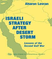 Cover Israeli Strategy After Desert Storm