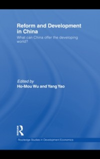 Cover Reform and Development in China