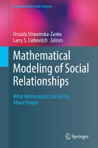 Cover Mathematical Modeling of Social Relationships