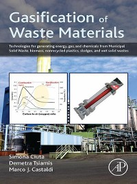 Cover Gasification of Waste Materials