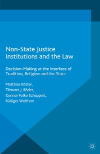 Cover Non-State Justice Institutions and the Law