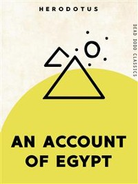Cover An Account of Egypt