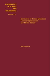 Cover Extensions of Linear-Quadratic Control, Optimization and Matrix Theory