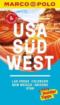 Cover MARCO POLO Reiseführer USA Südwest, Las Vegas, Colorado, New Mexico, Arizona