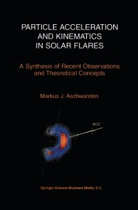 Cover Particle Acceleration and Kinematics in Solar Flares