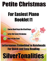 Cover Petite Christmas for Easiest Piano Booklet I1