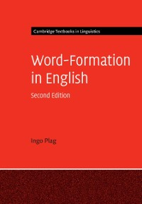 Cover Word-Formation in English