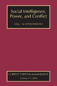 Cover Social Intelligence, Power, and Conflict