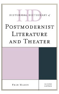 Cover Historical Dictionary of Postmodernist Literature and Theater