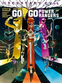 Cover Saban's Go Go Power Rangers, Issue 22