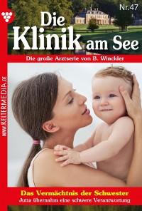Cover Die Klinik am See 47 – Arztroman