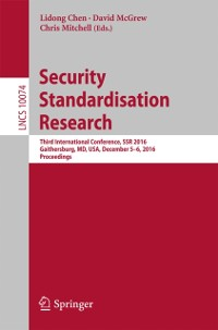 Cover Security Standardisation Research