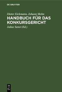 Cover Handbuch für das Konkursgericht