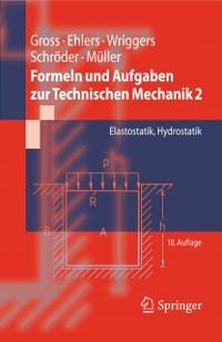 Cover Formeln und Aufgaben zur Technischen Mechanik 2