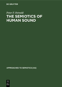 Cover The Semiotics of Human Sound