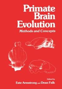 Cover Primate Brain Evolution