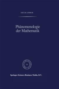 Cover Phanomenologie der Mathematik