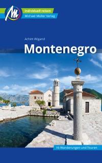 Cover Montenegro Reiseführer Michael Müller Verlag